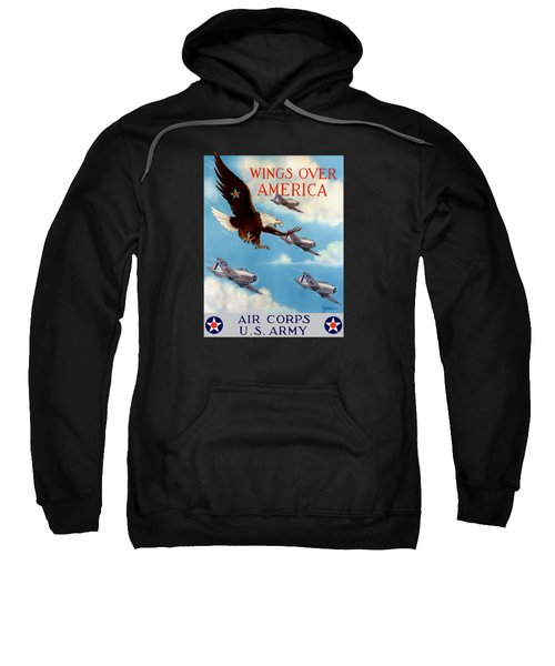 Wings Over America - Air Corps U.s. Army Sweatshirt