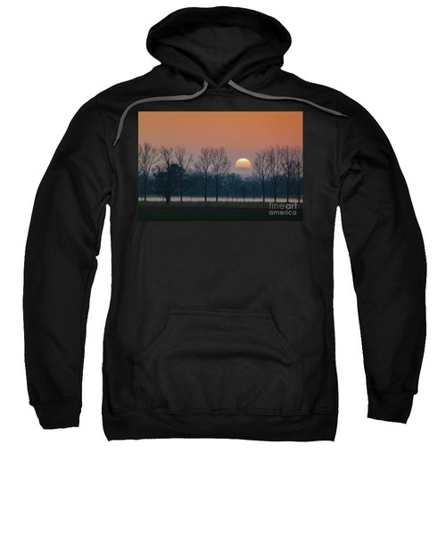 Winter Sunset 1 Sweatshirt