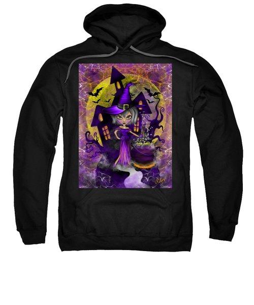 Wisdom Witch Fantasy Art Sweatshirt