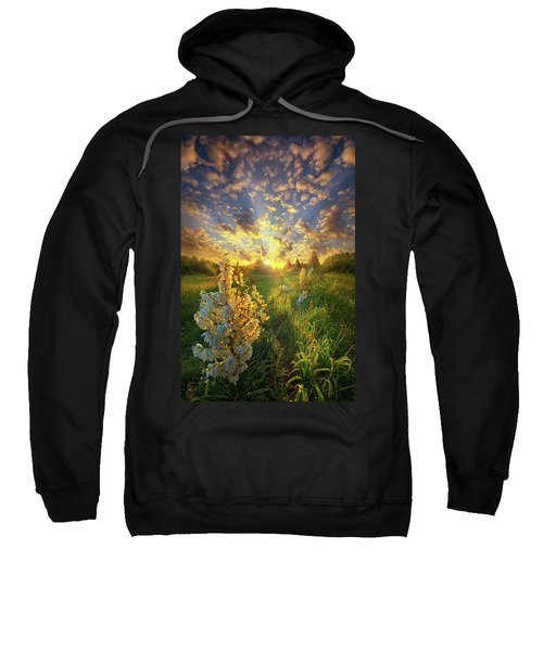 With An Angel By My Side Sweatshirt