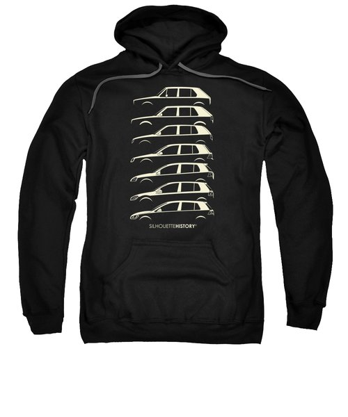 Wolfsburger Hatch Five Silhouettehistory Sweatshirt by Gabor Vida