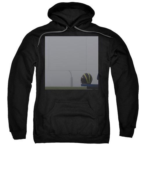 Wolverine Helmet In Heavy Morning Fog Sweatshirt