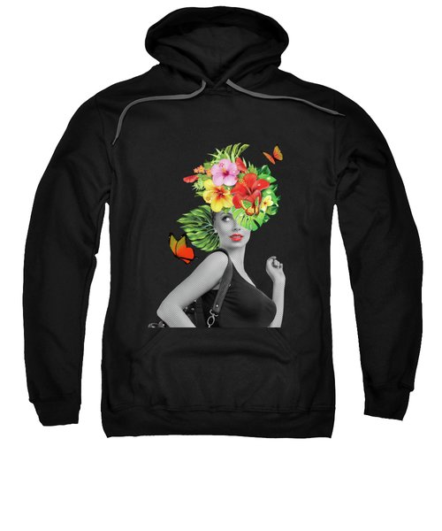 Woman Floral  Sweatshirt