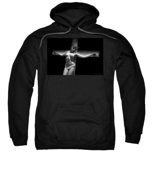 Woman On Cross Sweatshirt