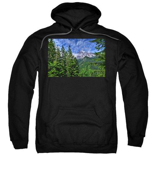 Woods Surrounding Mt. Rainier Sweatshirt