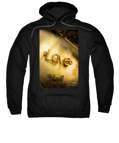 Words And Letters Of Love Sweatshirt