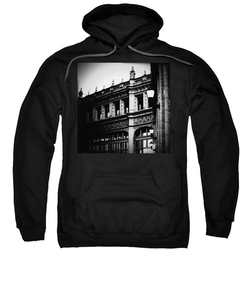 Wrigley Building Square Sweatshirt