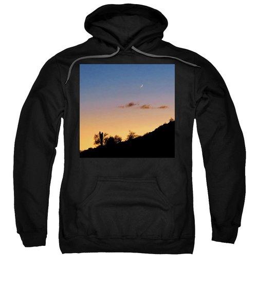Y Cactus Sunset Moonrise Sweatshirt