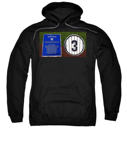 Yankee Legends Number 3 Sweatshirt by David Lee Thompson