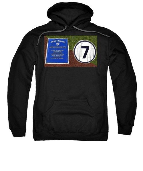Yankee Legends Number 7 Sweatshirt by David Lee Thompson