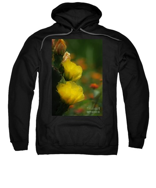 Yellow Cactus Flower Sweatshirt