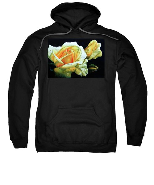 Yellow Roses Sweatshirt