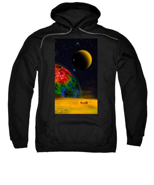 Yellow Sea On Kepler 186d Sweatshirt