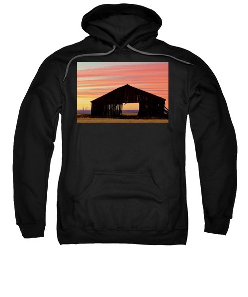 Yesterday And Today At Sunset Sweatshirt