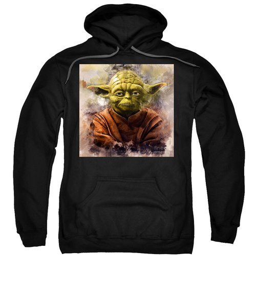 Yoda Art Sweatshirt