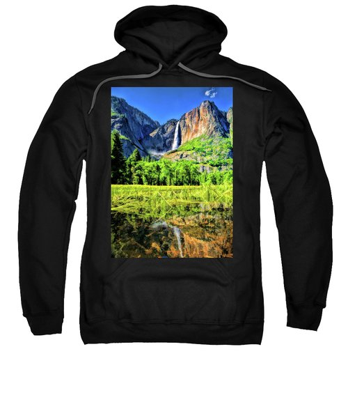 Yosemite National Park Bridalveil Fall Sweatshirt