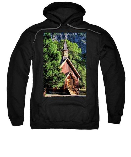 Yosemite National Park Valley Chapel Sweatshirt