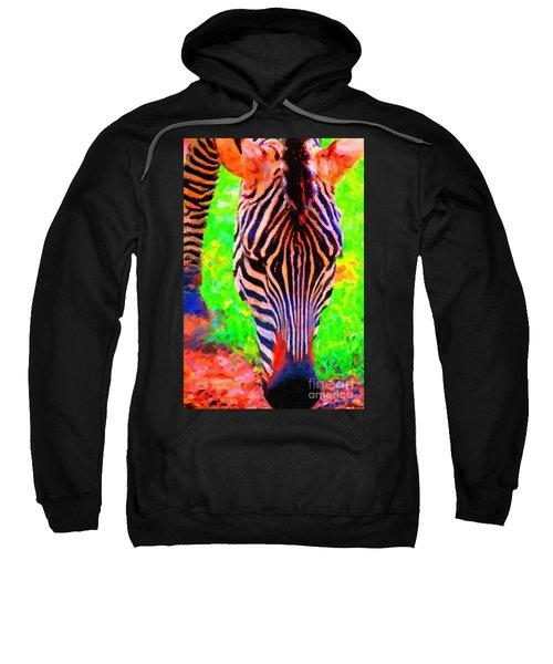 Zebra . Photoart Sweatshirt