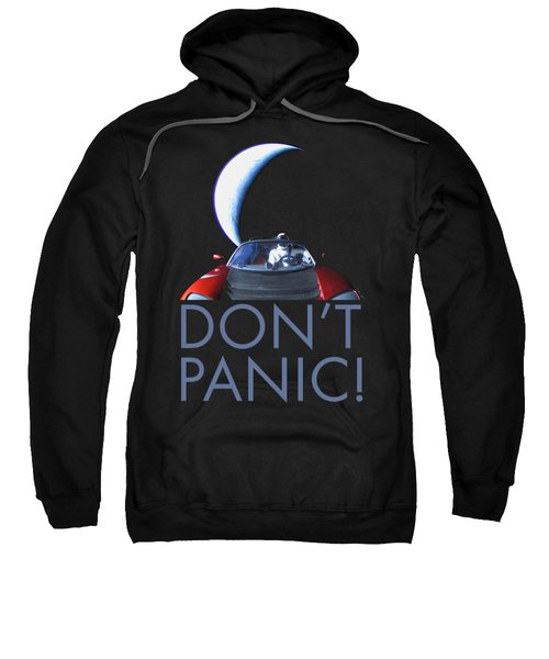 Don't Panic Starman Sweatshirt