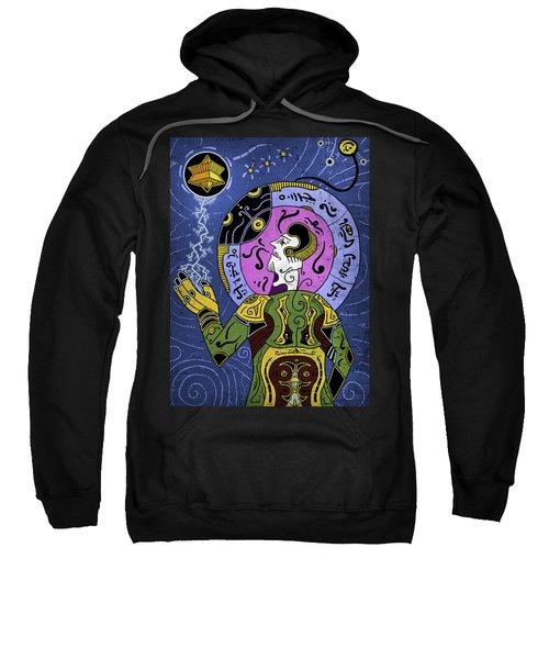 Sweatshirt featuring the digital art Incal by Sotuland Art