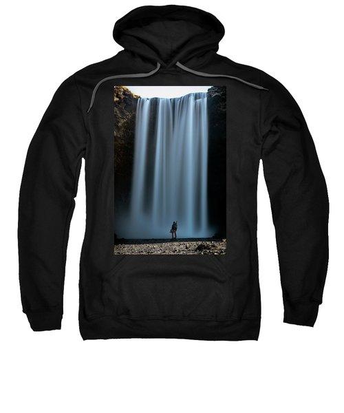 Amongst Giants Skogafoss Iceland Sweatshirt