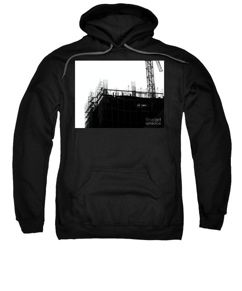 Large Scale Construction In Outline Sweatshirt