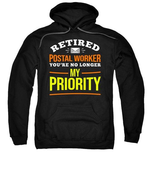 Retirement Post Office Retired Postal Worker Gift Sweatshirt