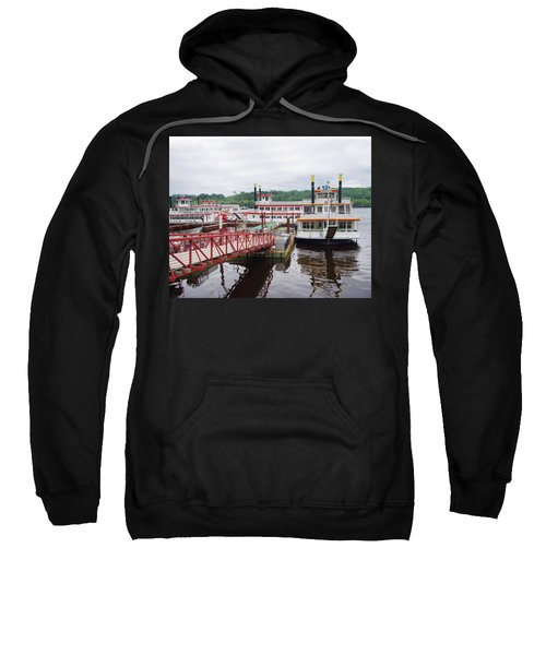 A Calliope Of Riverboats Sweatshirt
