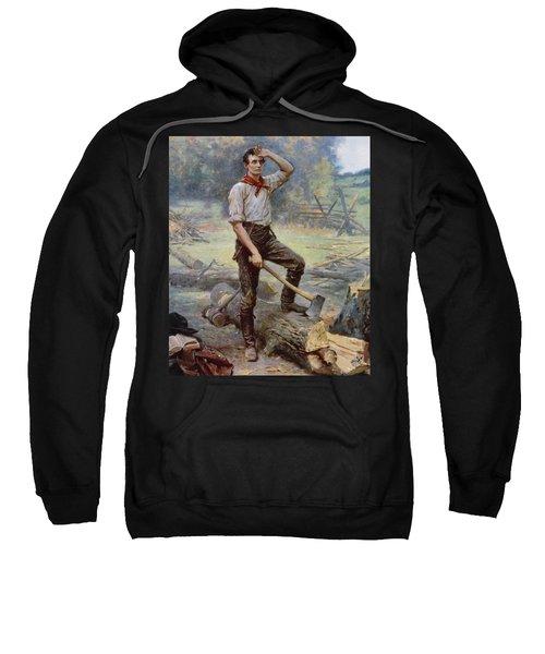 Abe Lincoln The Rail Splitter  Sweatshirt