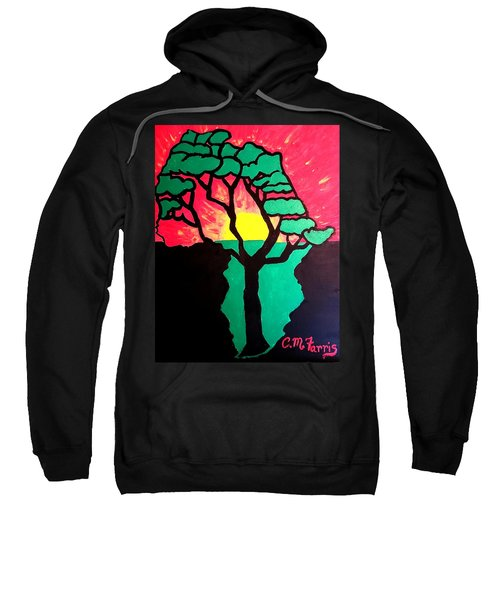 African Sunset  Sweatshirt