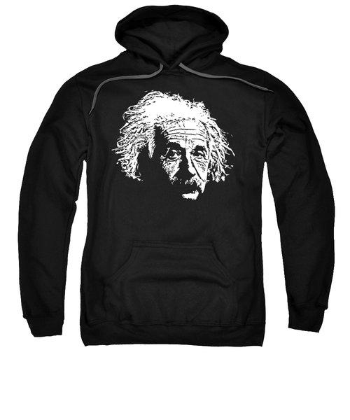 Albert Einstein Minimalistic Pop Art Sweatshirt