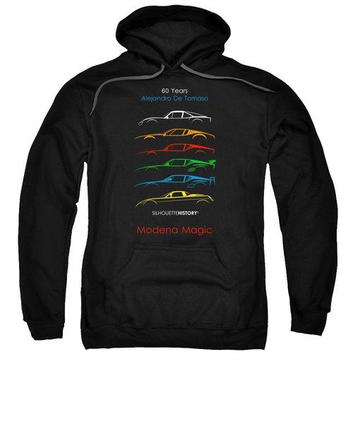 Alejandro's Sports Car 60 Silhouettehistory Sweatshirt