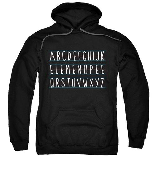 Alphabet Elemeno Sweatshirt