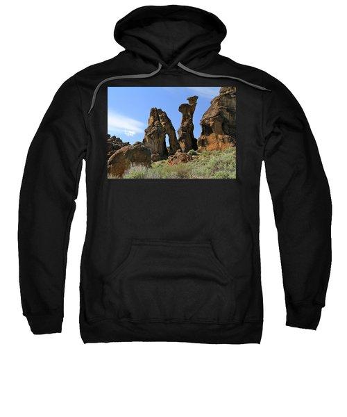 Arches Hoodoos Castles Sweatshirt