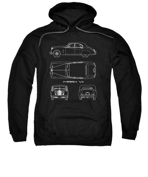 Jaguar Mk Vii Blueprint Sweatshirt