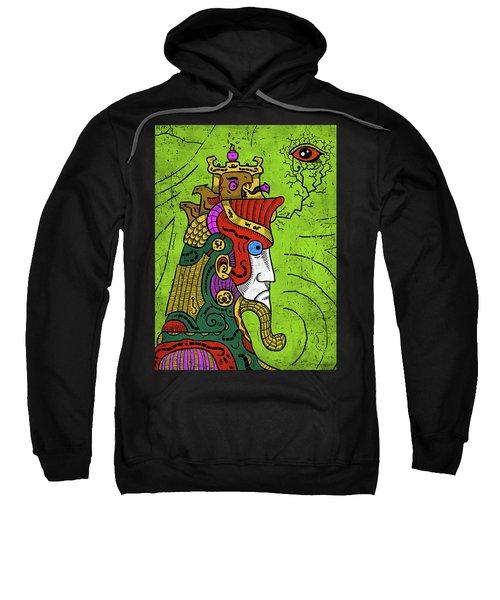 Sweatshirt featuring the digital art Ancient Egypt Pharaoh by Sotuland Art