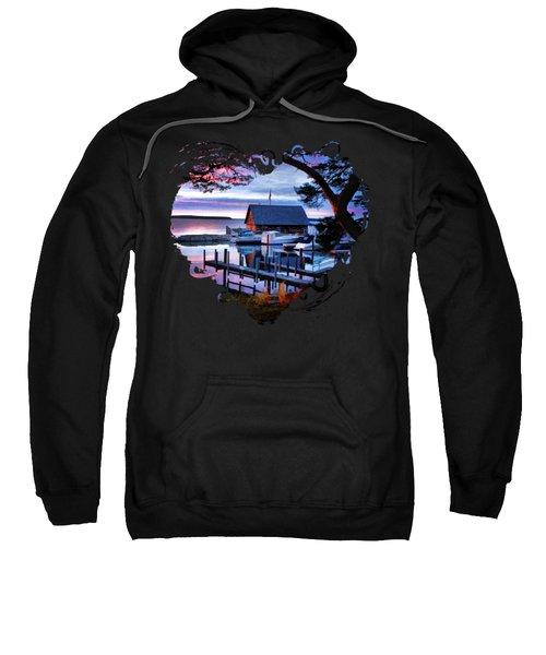 Door County Anderson Dock Sunset Sweatshirt