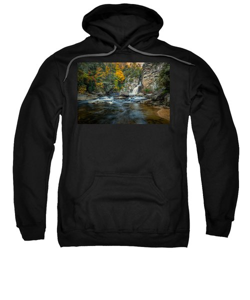 Autumn At Linville Falls - Linville Gorge Blue Ridge Parkway Sweatshirt