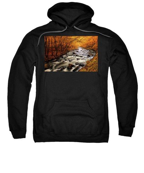 Autumn On The Little River Sweatshirt