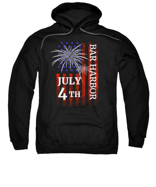 Bar Harbor 4th Of July Independence Day Sweatshirt