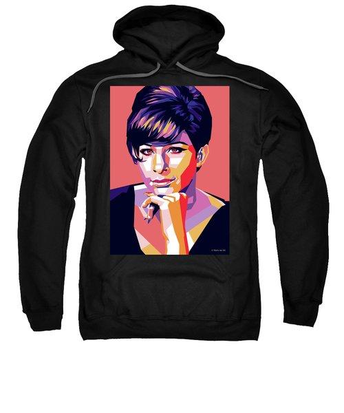 Barbra Streisand Pop Art Sweatshirt