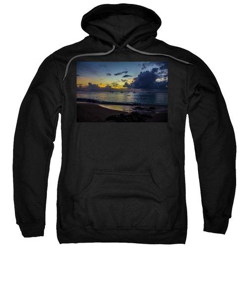 Beach At Sunset 3 Sweatshirt
