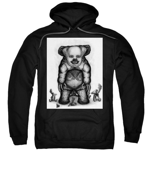 Benjamin The Nightmare Bear Artwork Sweatshirt