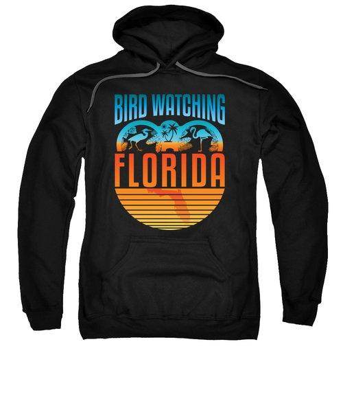 Bird Watching Florida Sweatshirt