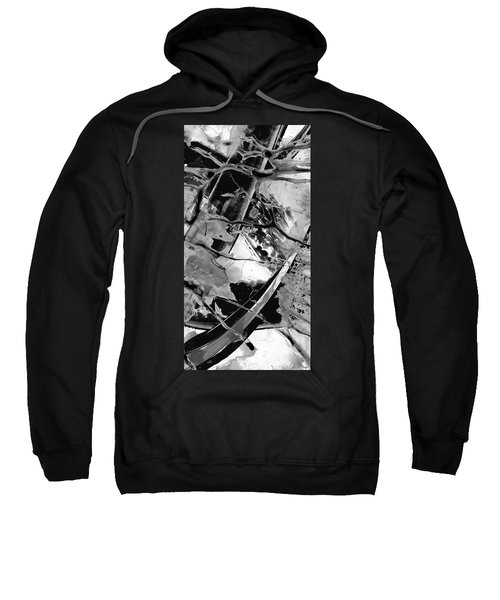 Black And White Art - Black Formations 5 - Sharon Cummings Sweatshirt