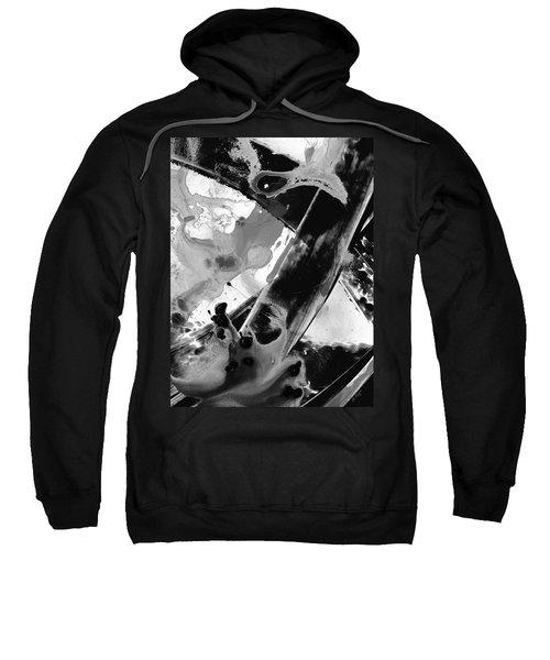 Black And White Art - Black Formations 6 - Sharon Cummings Sweatshirt