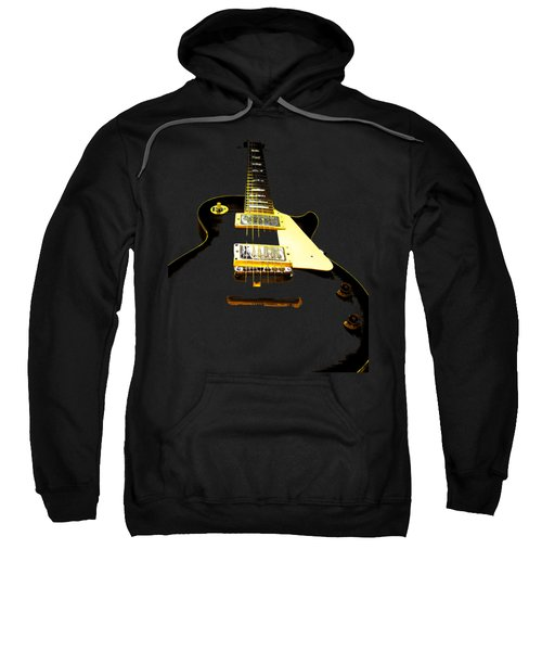 Black Guitar With Gold Accents Sweatshirt