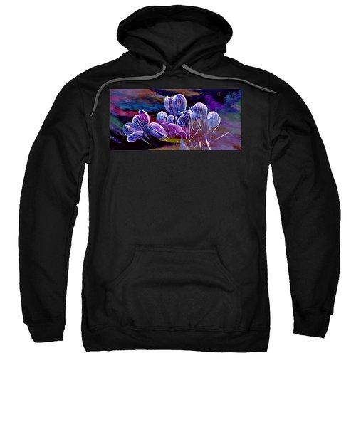 Blue Bloom Sweatshirt