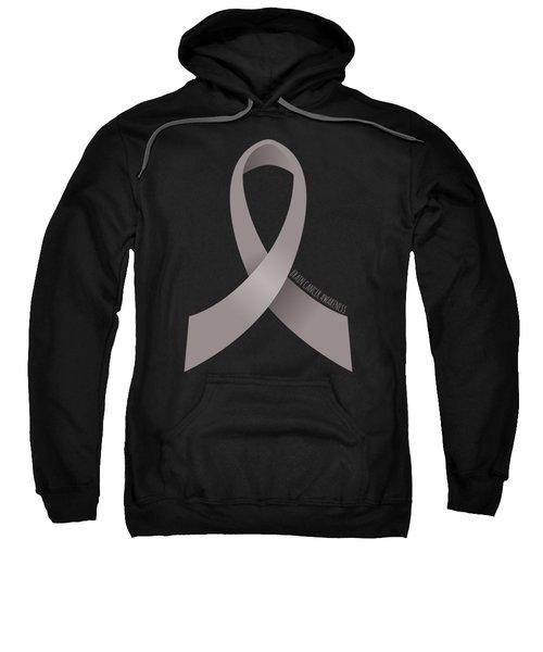 Brain Cancer Awareness Ribbon Sweatshirt