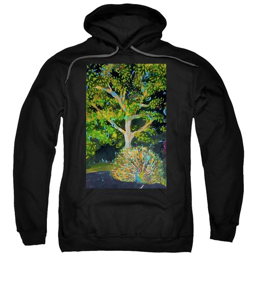 Branching Out Peacock Sweatshirt